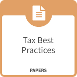 Tax best practice image